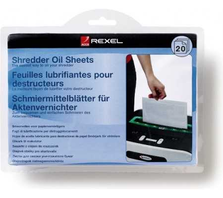 Rexel Shredder Oil Sheets (20), Office Machines, Best Buy Cyprus, Shredders, REX-2101949 Rexel,  bestbuycyprus, best buy
