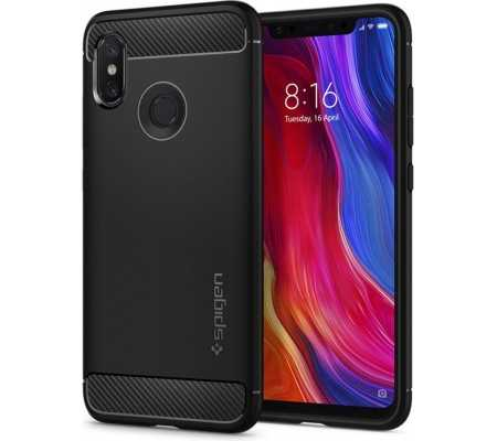Spigen Xiaomi Mi 8 Case Rugged Armor, Phones & Wearables, Best Buy Cyprus, Phone Cases, SPN131BLKOK #SPIGEN   #bestbuycyprus