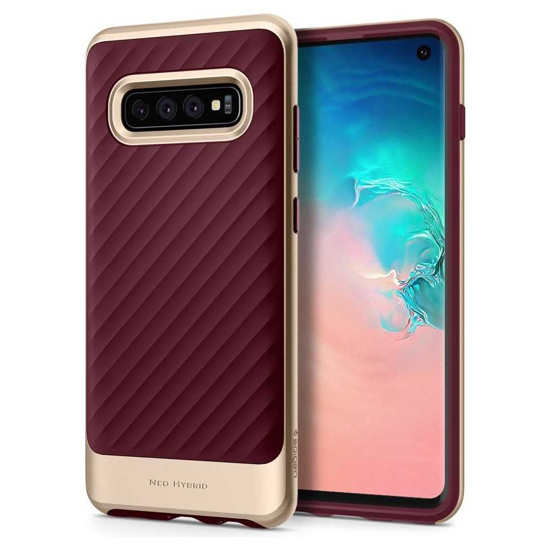 Spigen Neo Hybrid Samsung Galaxy S10 Burgundy