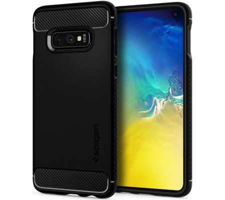 Spigen Rugged Armor Samsung Galaxy S10e Matte Black, Phones & Wearables, Best Buy Cyprus, Phone Cases, SPN259BLK #Spigen
