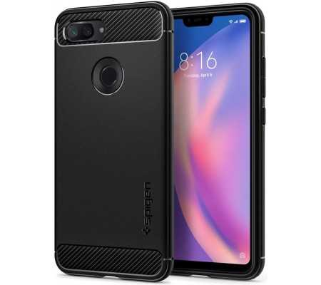 Spigen Rugged Armor Xiaomi Mi8 Lite Black, Phones & Wearables, Best Buy Cyprus, Phone Cases, SPN219BLKOK SPIGEN,