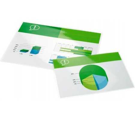 GBC Document Laminating Pouches A2 2x80 Micron Gloss (100)
