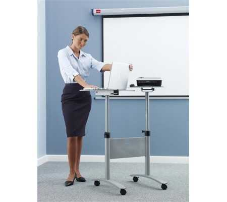 Nobo Multimedia Projection Trolley - Twin Platform, Projection, Best Buy Cyprus, Projector Supports, 1900791 Nobo,