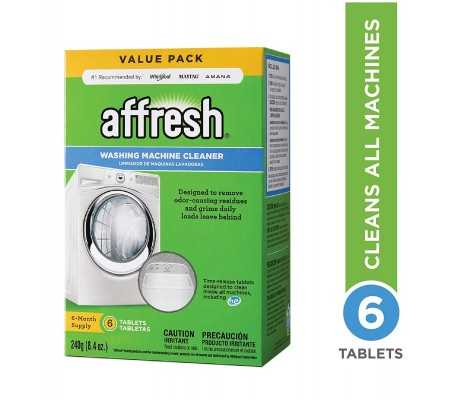 Affresh Washing Machine Cleaner 6-Tablets, Laundry, Best Buy Cyprus, Washing Machines
