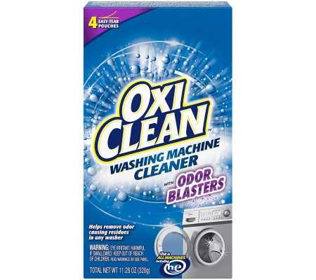 OxiClean Washing Machine Cleaner with Odor Blasters 4 Count, Laundry, Best Buy Cyprus, Freestanding Washing Machines