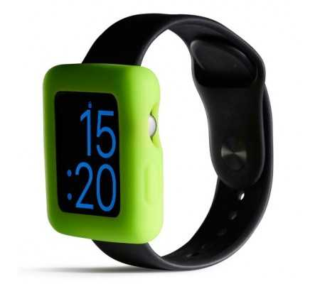 Boompods Boomtime Silicon Cover for Apple Watch 42mm green, Apple Cases, Best Buy Cyprus, Apple Watch Cases