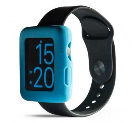 Boompods Boomtime Silicon Cover for Apple Watch 42mm blue