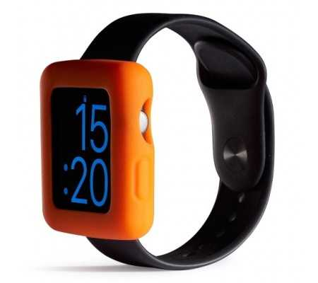 Boompods Boomtime Silicon Cover for Apple Watch 42mm orange