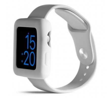 Boompods Boomtime Silicon Cover for Apple Watch 42mm white, Apple Cases, Best Buy Cyprus, Apple Watch Cases