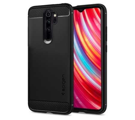 Spigen Rugged Armor Redmi Note 8 Pro Black, Phones & Wearables, Best Buy Cyprus, Phone Cases, SPN473BLK #Spigen   #bestbuycyprus