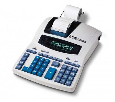 Rexel Ibico 1232X Professional Print Calculator