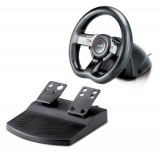 Genius Speed Wheel 5 Pro Steering wheel + Pedals PC Analogue USB 2.0, Gaming, Best Buy Cyprus, Gaming accessories, 31620019100