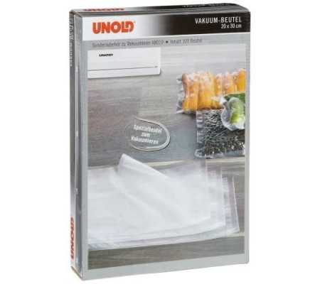 Unold 4801002 Vacuum Bags 30cm x 20cm 100 Bags, Small Appliances, Best Buy Cyprus, Food Vacuum Sealers, 4801002 Unold,