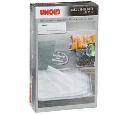 Unold 4801001 Vacuum Sealer Bags 25cm x 15cm 100 Bags, Small Appliances, Best Buy Cyprus, Food Vacuum Sealers, 4801001 Unold,