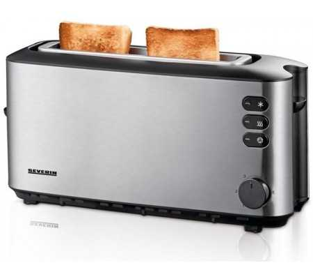 Severin AT2515 Stainless steel 2 slice toaster, Small Appliances, Best Buy Cyprus, Toasters & Toaster Ovens, AT 2515 Severin,