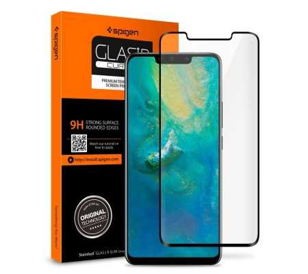 Spigen GLAS.tR TC 3D Full Cover Case Friendly Huawei Mate 20 Pro, Phone Cases, Best Buy Cyprus, Screen Protectors, SPN212OK