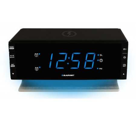 Blaupunkt Clock radio with wireless and USB charging, TV & Entertainment, Best Buy Cyprus, Home Audio, CR55CHARGE Blaupunkt,