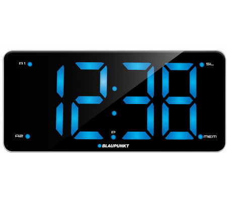 Blaupunkt CR15WH Clock radio with dual alarm and USB charging, TV & Entertainment, Best Buy Cyprus, Home Audio, CR15WH