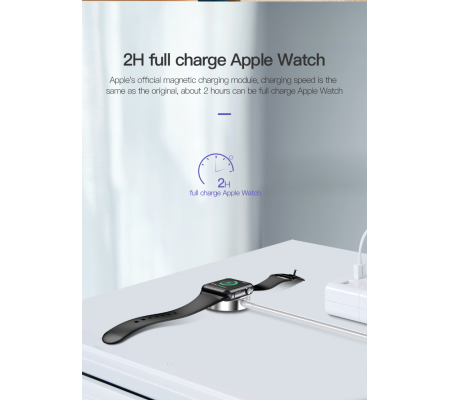 TOTU Glory Series Apple Watch Gen. 1-4 Magnetic Wireless Charger White, Mobile Accessories, Best Buy Cyprus, Chargers And Cables