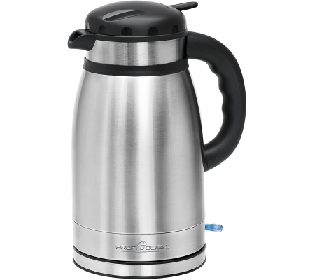 ProfiCook PC-WKS 1148 T electric kettle / Thermo 1.5 L Stainless steel, Small Appliances, Best Buy Cyprus, Tea Pots & Water