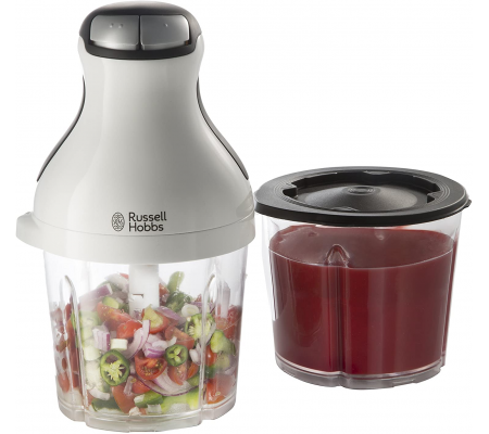 Russell Hobbs Aura Chop and Blend Mini Chopper, Small Appliances, Best Buy Cyprus, Blenders, 21510-56 Russell Hobbs,