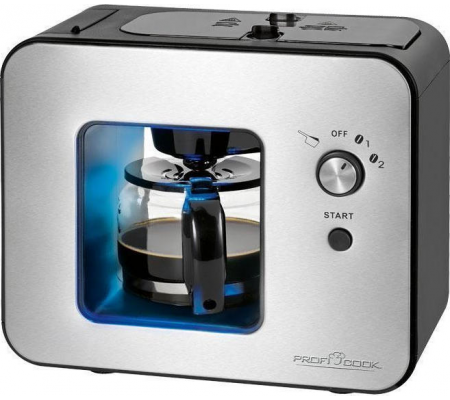 ProfiCook PC-KA 1152 Coffee machine with grinder, Small Appliances, Best Buy Cyprus, Coffee Makers & Espresso Machines, 501152
