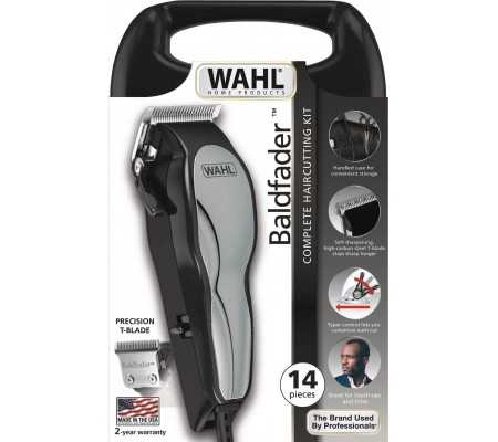 Wahl Baldfader Clipper 14-piece Haircutting Kit, Health & wellbeing, Best Buy Cyprus, Mens shavers, 79111-516 Wahl,