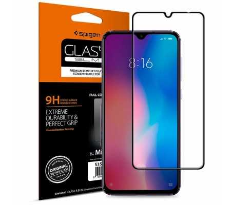 Spigen GLAS.tR Slim Xiaomi Mi9 Black, Phone Cases, Best Buy Cyprus, Screen Protectors, SPN705BLK SPIGEN