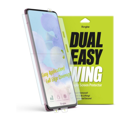Ringke Dual Easy Wing Full Cover Samsung Galaxy A71 [2 PACK], Phone Cases, Best Buy Cyprus, Screen Protectors, RGK1087 RINGKE,