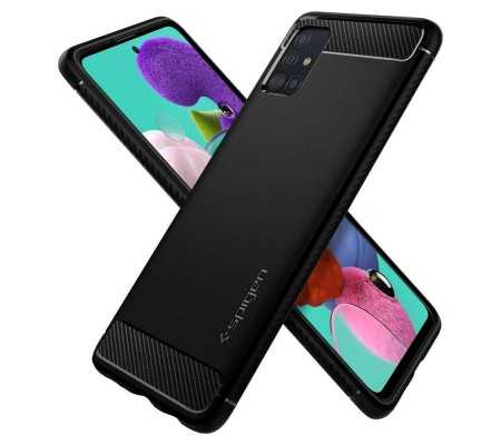 Spigen Rugged Armor Samsung Galaxy A51 Black, Phones & Wearables, Best Buy Cyprus, Phone Cases, SPN502BLK SPIGEN