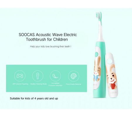 Soocas C1 Electric Toothbrush For Kids, Health & wellbeing, Best Buy Cyprus, Electric Toothbrushes, 6970237664341 #Xiaomi