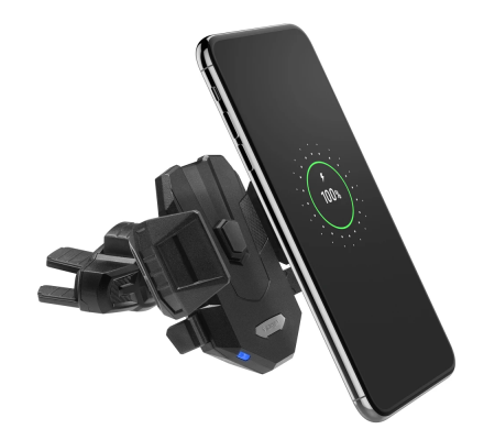 Spigen X35W CD Car Mount Wireless Charger Black