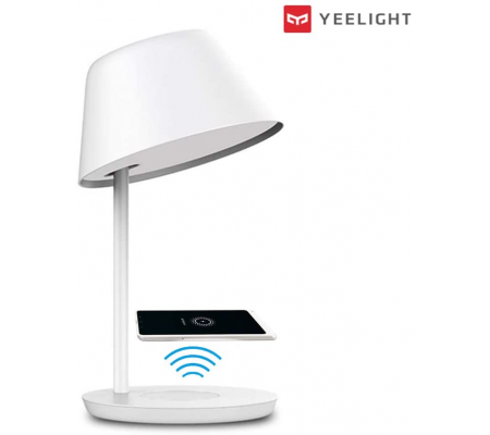 Yeelight with wireless charger Smart LED Touch Table Lamp with Voice Control, Smart Home, Best Buy Cyprus, Home Lighting