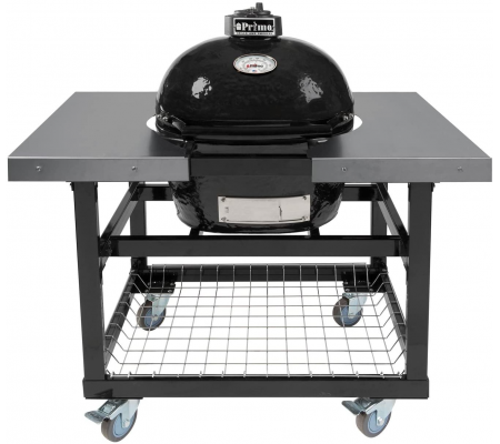 Primo Oval XL 400 & Table with Steel Sides