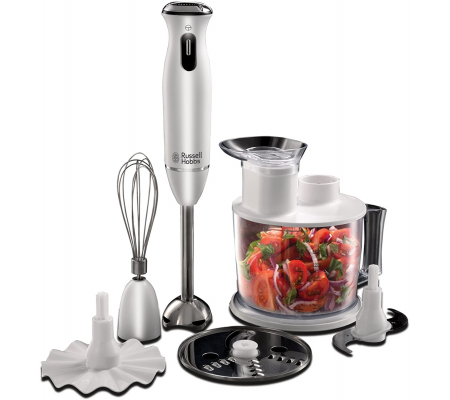 Russell Hobbs 21500-56 Aura 6-in-1 Hand Blender,  #bestbuycyprus, A host of uses, just one appliance. The Aura 6-in-1 Hand