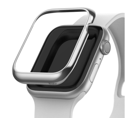 Ringke Bezel Styling Apple Watch 5/4 44mm Stainless Steel Glossy Silver, Phones & Wearables, Best Buy Cyprus, Smart Watch