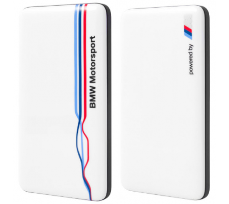 BMW Motorsport Power Bank 4800mAh White, Phone Accessories, Best Buy Cyprus, Powerbanks, 3700740362006 ,  bestbuycyprus, best