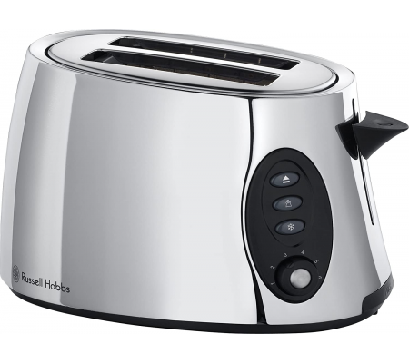 Russell Hobbs 18029 2 Slice Stylis Toaster - Polished Stainless Steel,  #bestbuycyprus, Stunning highly polished stainless