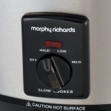 Morphy Richards Slow Cooker 3.5 Litre 48710 Brushed Steel Slowcooker, Small Appliances, Best Buy Cyprus, Multi-Cookers, 48710A