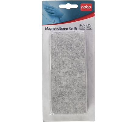 Nobo Magnetic Whiteboard Eraser Refills Pack of 10, Planning Boards, Best Buy Cyprus, Planning Board Accessories, 34534497