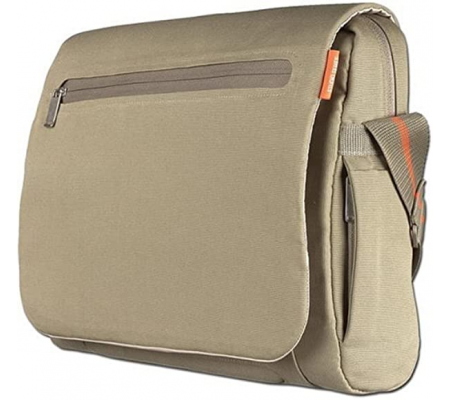 "Belkin NE-MS 15.4"" Laptop Messenger Case Khaki, Computer Accessories, Best Buy Cyprus, Laptop & School Bags, BLK-F8N026eaKHK"