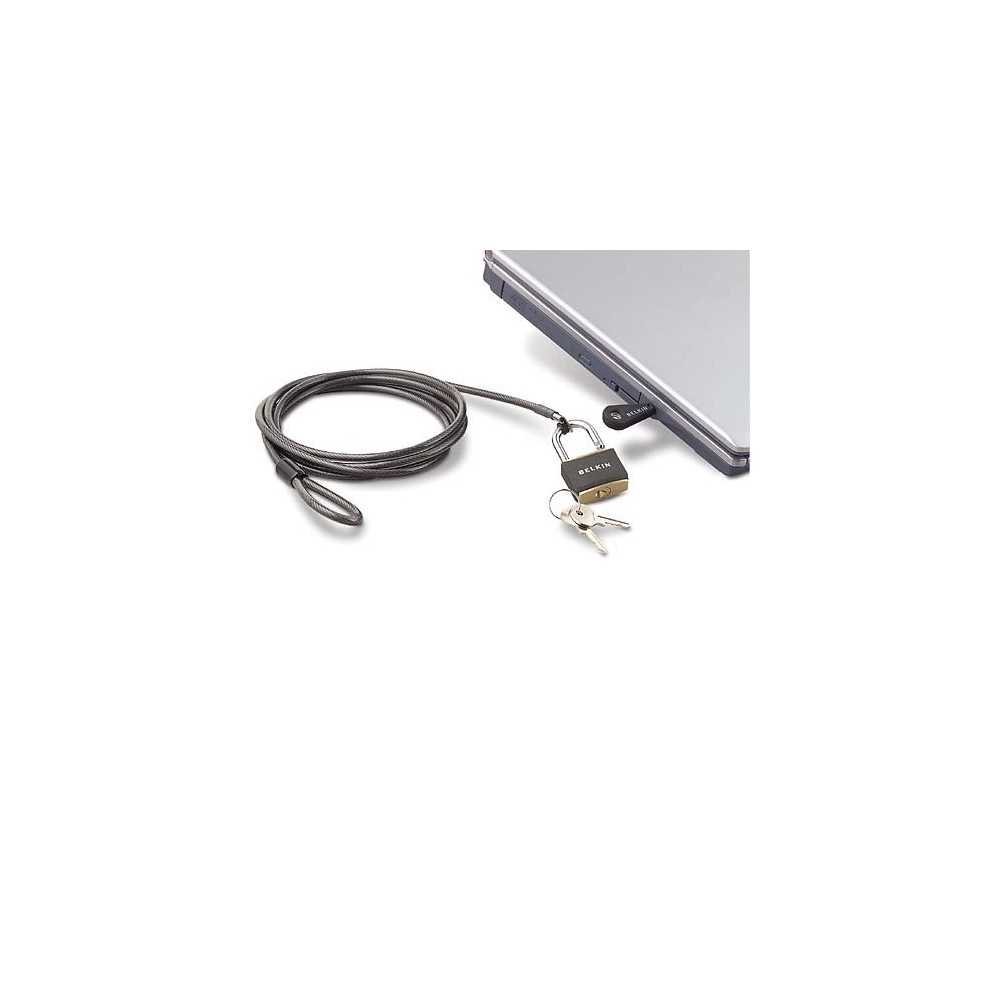 Belkin F8E550QN Notebook cable lock 1.8 m, Computer Accessories, Best Buy Cyprus, Laptop Stands, BLK-F8E550qn Belkin,