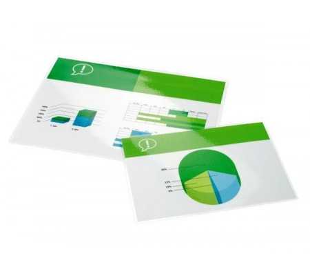 GBC Document Laminating Pouches A2 2x80 Micron Gloss (100), Office Machines, Best Buy Cyprus, Laminating Machines, IBILPA2-80