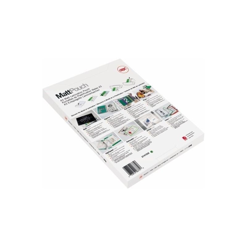 GBC Matt Laminating Pouches A4 2x75 Micron (100), Office Machines, Best Buy Cyprus, Laminating Machines, IBILPA4-75 MAT GBC,