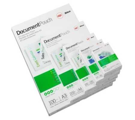 GBC Document Laminating Pouches A4 2x75 Micron Gloss (100), Office Machines, Best Buy Cyprus, Laminating Machines, IBILPA4-80