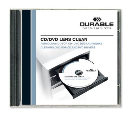 Durable CD/DVD Lens Clean 5723/00, Computer Accessories, Best Buy Cyprus, Cleaning & Care Products, DUR5723 Durable, smartphones