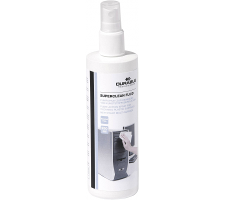 Durable Superclean Fluid 250 ml, Computer Accessories, Best Buy Cyprus, Cleaning & Care Products, DUR5781-19 Durable