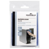 Durable SUPERCLEAN cleaning cloth Microfibre Blue 1 pc(s), Computer Accessories, Best Buy Cyprus, Cleaning & Care Products