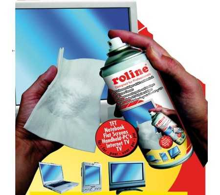 ROLINE TFT/LCD-Foam-Cleaner, Computer Accessories, Best Buy Cyprus, Cleaning & Care Products, RTL19033165 ROLINE, smartphones
