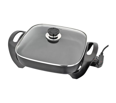 OTTO SK101 Non-stick Electric Skillet, Small Appliances, Best Buy Cyprus, Multi-Cookers, SK101 Otto,  bestbuycyprus, best buy